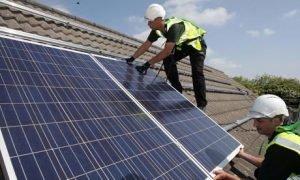 Aangeven zonnepanelen